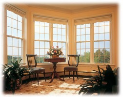 double hung windows interior