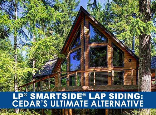 Lp 174 Smartside 174 Lap Siding Cedar S Ultimate Alternative